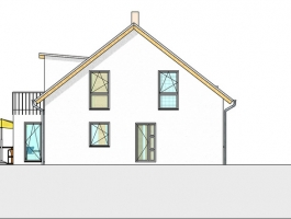Einfamilienhaus mit 2 Terrassen und Balkon in Müschede